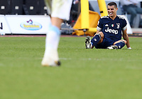 Football, Serie A: S.S. Lazio - Juventus Olympic stadium, Rome, November 8, 2020. <br /> Juventus' Cristiano Ronaldo reacts during the Italian Serie A football match between Lazio and Juventus at Olympic stadium in Rome, on November 8, 2020.<br /> UPDATE IMAGES PRESS/Isabella Bonotto