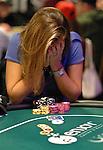 Veronia Dabul agonizes over a decision.  She folded.