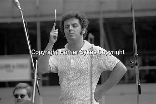 Daniel Barenboim rehearsals Royal Philharmonic Orchestra London 1976