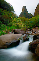Iao Needle, Iao Valley State Park, Maui, Hawaii