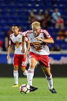 Harrison, NJ - Thursday Sept. 15, 2016: Mike Grella during a CONCACAF Champions League match between the New York Red Bulls and Alianza FC at Red Bull Arena.