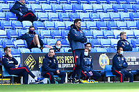 Reading Manager Veljko Paunovic watches on during Reading vs Watford, Sky Bet EFL Championship Football at the Madejski Stadium on 3rd October 2020
