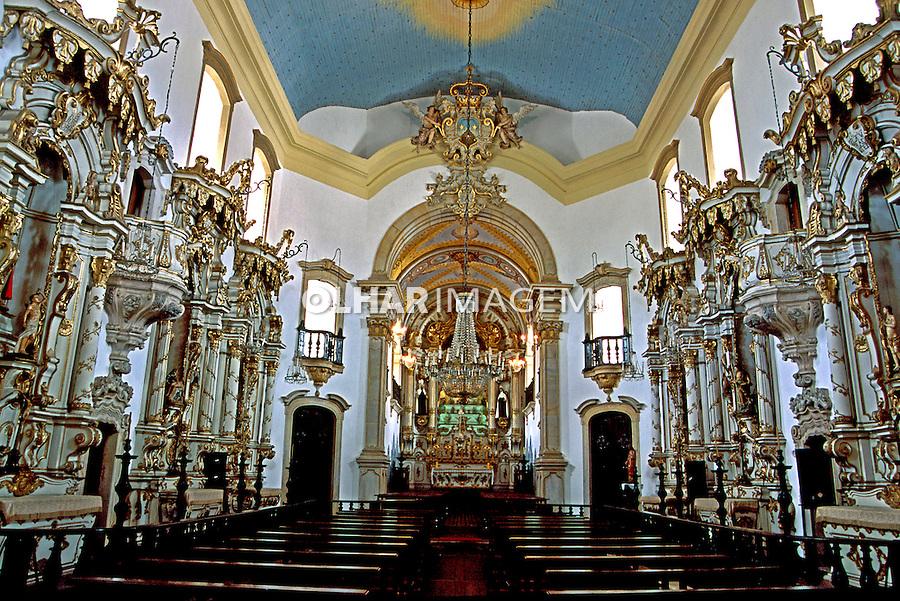 Igreja Nossa Senhora do Carmo em Ouro Preto. Minas Gerais. 1999. Foto de Adriano Gambarini.