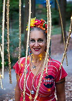 Vamola Drum & Dance Ensemble, Arts A Glow Festival 2017, Dottie Harper Park, Burien, WA, USA.