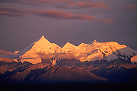 Mt. Brooks of the Alaska Range, Denali National Park, Alaska