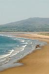 Harlech beach Gwynedd North Wales UK.