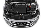 Car Stock 2021 Opel Insignia Ultimate 4 Door Sedan Engine  high angle detail view