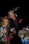 CINZIA TH TORRINI CON RALPH PALKA<br /> FESTA RIUNIFICAZIONE  A VILLA ALMONE RESIDENZA AMBASCIATORE TEDESCO -  ROMA  OTTOBRE 2008