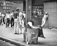 New York streets<br /> <br /> Photo : Boris Spremo - Toronto Star archives - AQP