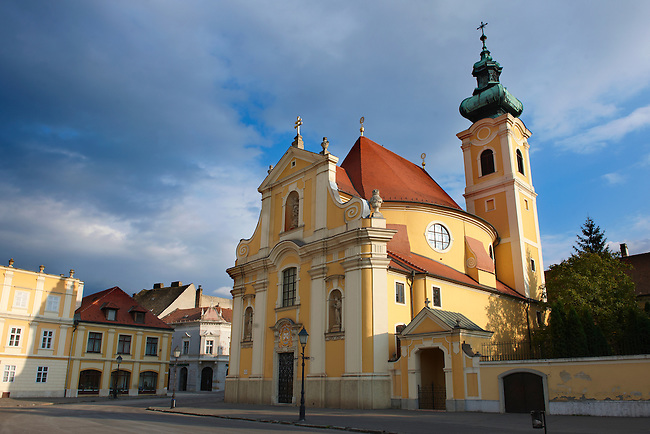 Carmelite church - Gyor ( Györ ) Hungary