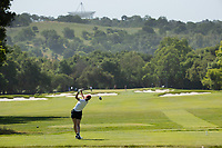 STANFORD, CA - APRIL 23: Emily Baumgart at Stanford Golf Course on April 23, 2021 in Stanford, California.