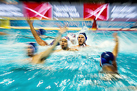 action panning<br /> CRO - MLT Men Croatia (White Cap) Vs. Malta(Blue caps)<br /> LEN European Water Polo Championships 2016<br /> Kombank Arena, Belgrade, Serbia <br /> Day05  14-01-2016<br /> Photo G.Scala/Insidefoto/Deepbluemedia