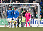 St Johnstone v Celtic…03.02.19…   McDiarmid Park    SPFL<br />Scott Tanser gets is consoled by David Wotherspoon after he let James Forrest in to score<br />Picture by Graeme Hart. <br />Copyright Perthshire Picture Agency<br />Tel: 01738 623350  Mobile: 07990 594431