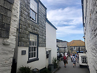 A whitewashed fisherman's cottage close to TV's Doc Martin's house is on the market for £595,000.