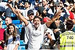 Supporters of Real Madrid before a match of La Liga Santander at Santiago Bernabeu Stadium in Madrid. October 02, Spain. 2016. (ALTERPHOTOS/BorjaB.Hojas)