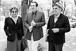 Salsomaggiore, Festival Incontri Cinematografici, 1981, Bernardo Bertolucci con i suoi genitori, Attilio e Ninetta; Salsomaggiore, Movie Meetings Festival, 1981, Bernardo Bertolucci with his parents Attilio and Ninetta