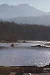 Elwha River, estuary, Elwha River Restoration, dam removal, Strait of Juan de Fuca, Olympic Peninsula, Washington State, Pacific Northwest, United States, North America,
