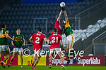 Ian MaGuire, Cork, in action against David Moran, Kerry during the Munster GAA Football Senior Championship Semi-Final match between Cork and Kerry at Páirc Uí Chaoimh in Cork.