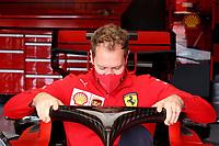 30th October 2020, Imola, Italy; FIA Formula 1 Grand Prix Emilia Romagna, inspection day;  5 Sebastian Vettel GER, Scuderia Ferrari Mission Winnow