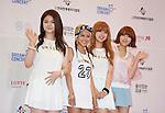 Tiny-G, Jun 07, 2014 : K-pop girl group Tiny-G pose before the Dream Concert in Seoul, South Korea. (Photo by Lee Jae-Won/AFLO) (SOUTH KOREA)