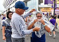 Orlando, FL - Wednesday July 31, 2019: Fans prior to the Major League Soccer (MLS) All-Star match between the MLS All-Stars and Atletico Madrid at Exploria Stadium.