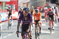 3rd September 2021; Tapia to Monforde de Lemos, Asturias, Spain; stage 19 of Vuelta a Espanya cycling tour;  Burg- Bh Madrazo, Ruiz Angel Monforte De Lemos
