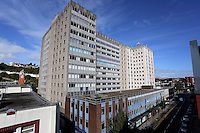 WORDS BY KARL WEST<br />Pictured: The Alexandra House as seen from the roof top of Coastal offices Friday 30 September 2016<br />Re: The regeneration of the High Street in Swansea, Wales, UK