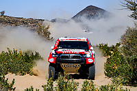 3rd January 2021, Jeddah, Saudi Arabia;  #304 De Villiers Giniel (zaf), Haro Bravo Alex (esp), Toyota, Toyota Gazoo Racing, Auto, action during the 1st stage of the Dakar 2021 between Jeddah and Bisha, in Saudi Arabia on January 3, 2021 -