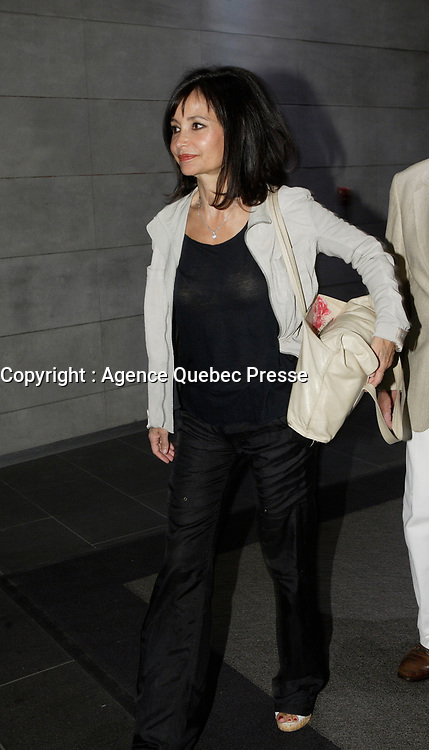 Montreal (Qc) CANADA - August 2008 File Photo<br /> <br /> Evelyne Bouix, actress and Jury member of the 2008 Montreal World Film Festival.