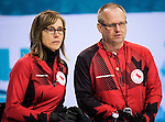 Dennis Thiessen and Sonja Gaudet, Sochi 2014 - Wheelchair Curling // Curling en fauteuil roulant.<br />