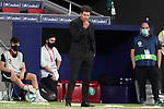 Atletico de Madrid's coach Diego Pablo Cholo Simeone during La Liga match. July 3,2020. (ALTERPHOTOS/Acero)
