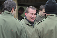 Pictured: Manager Brendan Rodgers. Tuesday 25 January 2011<br />
