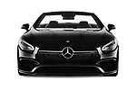 Car photography straight front view of a 2017 Mercedes Benz SL AMG 63 2 Door Convertible