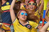 Una hincha de Colombia celebra el primer gol de Colombia contra Peru  en el Estadio Metropolitano Roberto Melendez de Barranquilla el  8 de octubre de 2015.<br /> <br /> Foto: Archivolatino<br /> <br /> COPYRIGHT: Archivolatino<br /> Prohibido su uso sin autorización.