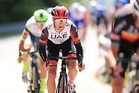 26th May 2021; Canazei, Trentino, Italy; Giro D Italia Cycling, Stage 17 Canazei to Sega Di Ala ; CONTI Valerio ITA