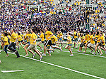 Baylor Bears students in action during the game between the Stephen F. Austin Lumberjacks and the Baylor Bears at the Floyd Casey Stadium in Waco, Texas. Baylor defeats SFA 48 to 0.