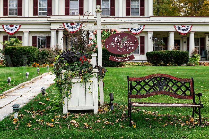 The Arlington Inn, Vermont, USA.