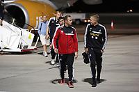 Thursday 29 August 2013<br /> Pictured: Garry Monk (R).<br /> Re: Petrolul Ploiesti v Swansea City FC UEFA Europa League, play off round, 2nd leg, Ploiesti, Romania.