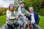 Enjoying a stroll in the Killarney National park on Sunday, l to r: Ann Marie, Thomas and John O'Sullivan.