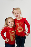 WATERBURY, CT- 10 December 2015-121015EC26-  Christmas Kids North. Ella Jeannette, 7, and her sister Callan, 4, are from Winsted. Erin Covey Republican-American