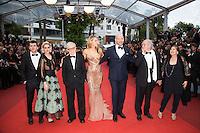 Jesse Eisenberg, Kristen Stewart, Woody Allen, Blake Lively and Corey Stoll , Vittorio Storaro and his wife - 69EME FESTIVAL DE CANNES 2016 - OUVERTURE DU FESTIVAL AVEC 'CAFE SOCIETY'