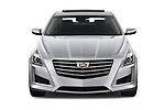 Car photography straight front view of a 2019 Cadillac CTS Luxury 4 Door Sedan