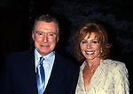 Regis Philbin and Joy Philbin attend the 17th Annual Crystal Apple Award at Gracie Mansion on June 14, 2000 in New York City.