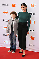 LOGAN SMITH AND CAMILA PEREZ - RED CARPET OF THE FILM 'WHO WE ARE NOW' - 42ND TORONTO INTERNATIONAL FILM FESTIVAL 2017