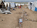 Iraq 2013 .Next to Domiz Refugee Camp, the unofficial camp with newcomers.Irak 2013.A cote du camp de Domiz, le camp officieux avec les nouveaux arrivants
