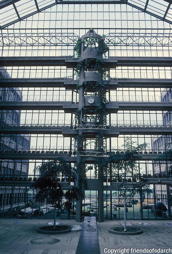 Gottfried Bohm: Zublin Ag HQ, Stuttgart.