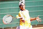 Colombia's Alejandro Hoyos during Junior Davis Cup 2015 match. September  30, 2015.(ALTERPHOTOS/Acero)