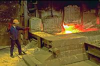 France, aluminum foundry<br /> PHOTO :  Agence Quebec presse