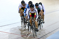 Bradly Knipe competes in the Men Elite Keirin during the 2020 Vantage Elite and U19 Track Cycling National Championships at the Avantidrome in Cambridge, New Zealand on Saturday, 25 January 2020. ( Mandatory Photo Credit: Dianne Manson )