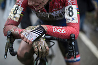 Marianne Vos (NED/WM3 Pro Cycling Team) post race exhausted<br /> <br /> Women's Race<br /> GP Sven Nys 2018